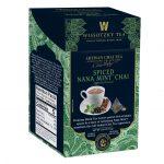 WISSOTZKY TEA SIGNATURE COLLECTION, ARTISAN CHAI TEA, SPICED NANA MINT CHAI, 16 COUNT