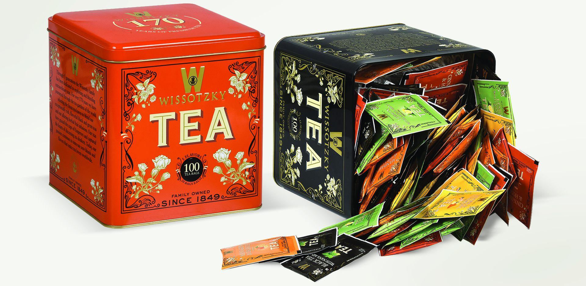 ヴィソツキーティーの歩み – Wissotzky Tea